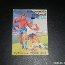 Coleccionismo deportivo: CALENDARIO FÚTBOLÍSTICO IMEDIO. TEMPORADA 1975/76. BUEN ESTADO, ALGUNOS RESULTADOS A BOLI. Lote 80891339