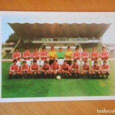 Coleccionismo deportivo: EQUIPO RUSO DE FÚTBOL. CALENDARIO BOLSILLO DE RUSIA. 1978. BUEN ESTADO. MUY DIFÍCIL. Lote 82121204