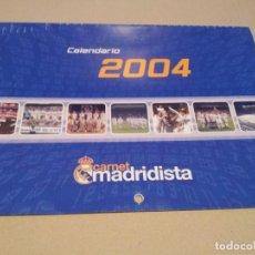 Coleccionismo deportivo: REAL MADRID - CALENDARIO PARED 2004 . Lote 83130072