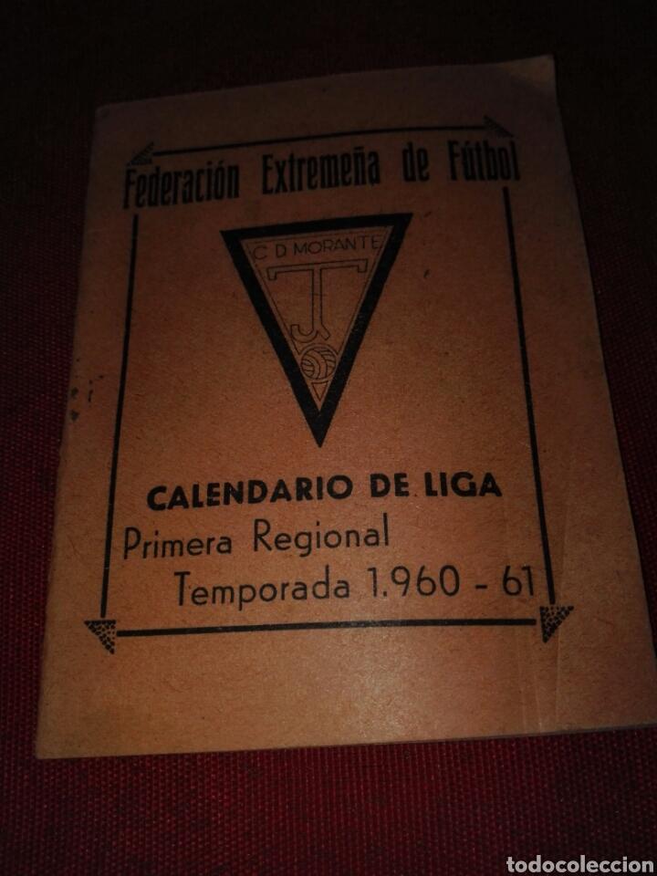CALENDARIO DE LIGA AÑO 1960-61 (Coleccionismo Deportivo - Documentos de Deportes - Calendarios)