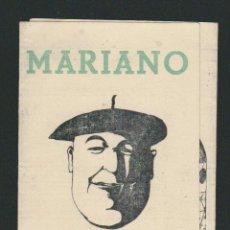Coleccionismo deportivo: CALENDARIO DE FUTBOL.1ª Y 2ª DIVISIÓN.TEMPORADA 1944-1945.. Lote 83850044