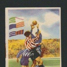 Coleccionismo deportivo: CALENDARIO DE LA LIGA DE FUTBOL.PRIMERA Y SEGUNDA DIVISIÓN.TEMPORADA 1960-61.. Lote 83851200