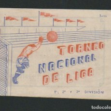 Coleccionismo deportivo: CALENDARIO DE FUTBOL.TORNEO NACIONAL DE LIGA.1ª, 2ª Y 3ª DIVISIÓN.. Lote 83852364