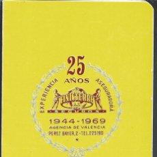 Coleccionismo deportivo: 9248- CALENDARIO DE FUTBOL TEMPORADA 1969-1970 -FINISTERRE, S.A.. Lote 84851640