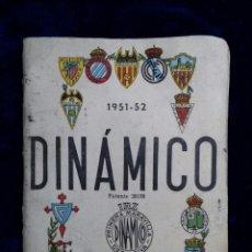Coleccionismo deportivo: FUTBOL - CALENDARIO DINAMICO TEMPORADA 1951-52 REAL MADRID BARCELONA SEVILLA CELTA .......... Lote 85253312