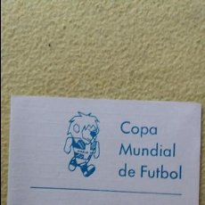 Coleccionismo deportivo: CALENDARIO COPA MUNDIAL DE FÚTBOL 1966. Lote 86153496