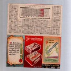Coleccionismo deportivo: CALENDARIO CAMPEONATO NACIONAL DE LIGA AÑO 1951 1952 51 52. Lote 86199652