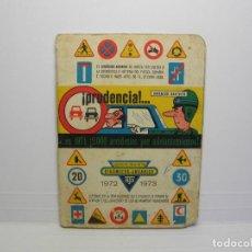 Coleccionismo deportivo: CALENDARIO DINAMICO 1972 1973. Lote 86225976