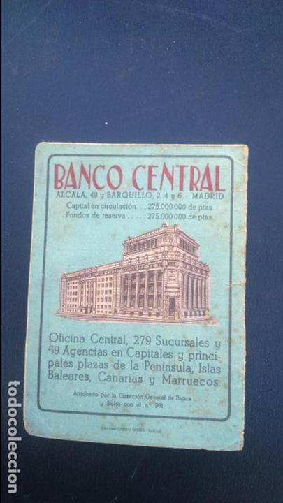 Coleccionismo deportivo: CALENDARIO DEL CAMPEONATO DE NACIONAL LIGA DE 1951 - 1952 - Foto 5 - 86335376