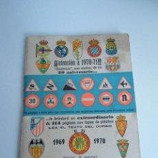 Coleccionismo deportivo: CALENDARIO DINAMICO 1969 1970. Lote 86764588