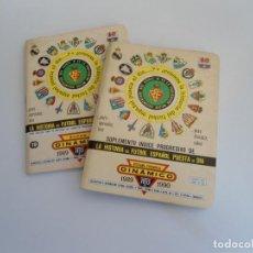 Coleccionismo deportivo: ANUARIO DE FUTBOL - CALENDARIO DINAMICO + SUPLEMENTO 1989 1990. Lote 86878072
