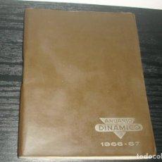 Coleccionismo deportivo: -CALENDARIO DINAMICO DE FUTBOL 1966-67. Lote 87023416