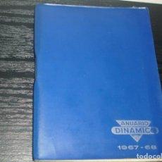 Coleccionismo deportivo: -CALENDARIO DINAMICO DE FUTBOL 1967-68. Lote 87023840
