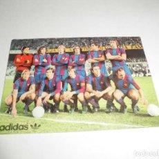 Coleccionismo deportivo: MAGNIFICO CALENDARIO DE BOLSILLO DEL FUTBOL CLUB BARCELONA DE 1977. Lote 93395625