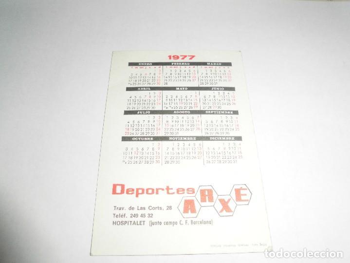 Coleccionismo deportivo: magnifico calendario de bolsillo del futbol club barcelona de 1977 - Foto 2 - 93395625