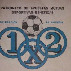 Coleccionismo deportivo: CALENDARIO GUIA DEL QUINIELISTA LIGA 78-79. Lote 94060020