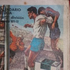 Coleccionismo deportivo: CALENDARIO LIGA 1971-1972. Lote 94063805