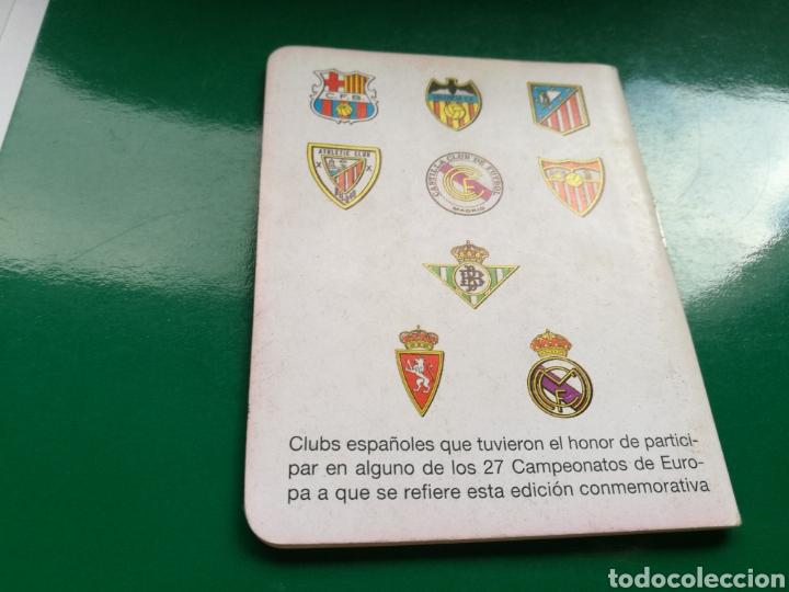 Coleccionismo deportivo: Calendario estadístico de fútbol Dinámico. Recopas de Europa y clubes de Campeones de Copa. 1961-87 - Foto 2 - 94132488