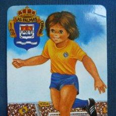 Coleccionismo deportivo: CALENDARIO. U.D. LAS PALMAS. AÑO 1994. BAR HERMANOS ROGELIO. Lote 95111539