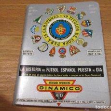 Coleccionismo deportivo: CALENDARIO DINAMICO 1981 1982. Lote 95332111