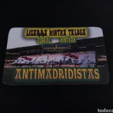 Coleccionismo deportivo: CALENDARIO ULTRAS HOOLIGANS INDAR GORRI OSASUNA PAMPLONA LIZARRA HINCHA HINTXA TALDEA 2005. Lote 95769727