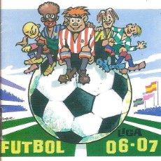 Coleccionismo deportivo: CALENDARIO CAMPEONATO NACIONAL DE LIGA 06/07. Lote 96531391