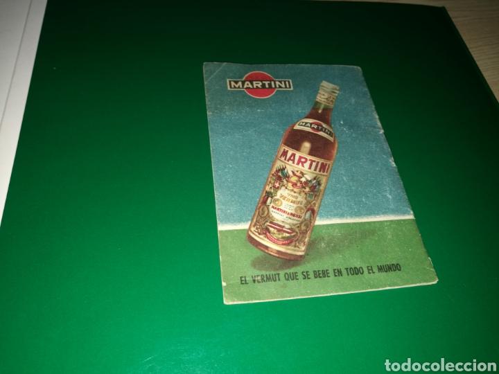 Coleccionismo deportivo: Calendario de Martini de la Liga española de fútbol. Temporada 1959-1960 - Foto 2 - 97811368