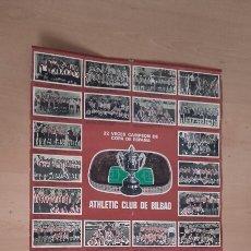Coleccionismo deportivo: ATHLETIC CLUB DE BILBAO. RARÍSIMO CALENDARIO DEL AÑO 1977.. Lote 101018896