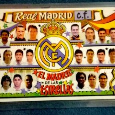 Coleccionismo deportivo: CALENDARIO BOLSILLO 1997 REAL MADRID EL MADRID DE LAS ESTRELLAS PLASTIFICADO. Lote 102708916