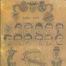 Coleccionismo deportivo: CALENDARIO DINÁMICO 1950/51 50/51. Lote 102712579