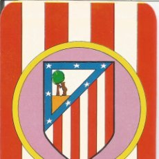 Collectionnisme sportif: CALENDARIO FÚTBOL, ATLETICO DE MADRID - 1976. Lote 103145311