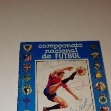 Coleccionismo deportivo: CAJ-B15FG CALENDARIO CAMPEONATO NACIONAL DE FUTBOL 1ª Y 2ª DIVISIÓN TEMPORADA 1976 / 77 - PEGAMENTO . Lote 103149995