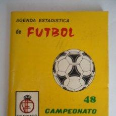 Coleccionismo deportivo: AGENDA FUTBOLISTICA DE FUTBOL AÑO 1978-79 DE 1ª, 2ª , 2ªA Y 2ªB. Lote 103463151