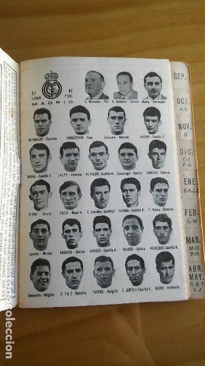 Coleccionismo deportivo: CALENDARIO DINAMICO FUTBOL LIGA AÑO 1967 - Foto 2 - 103745311