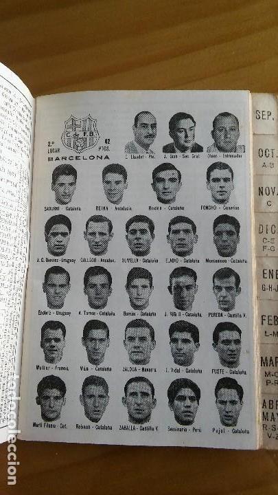 Coleccionismo deportivo: CALENDARIO DINAMICO FUTBOL LIGA AÑO 1967 - Foto 3 - 103745311