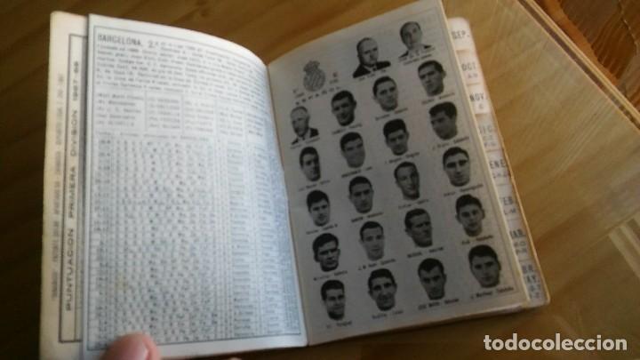Coleccionismo deportivo: CALENDARIO DINAMICO FUTBOL LIGA AÑO 1967 - Foto 5 - 103745311