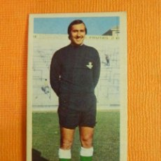Coleccionismo deportivo: CROMO - FUTBOL - ESNAOLA - REAL BETIS - EDICIONES ESTE LIGA 75-76 - 1975-1976 - NUNCA PEGADO. Lote 103773567