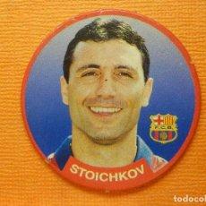 Colecionismo desportivo: CROMO -TAZO - FUTBOL - Nº 2 - STOICHKOV - BARCELONA - DIARIO SPORT- SPORTAZOS 1994 -. Lote 103777063