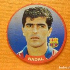 Coleccionismo deportivo: CROMO -TAZO - FUTBOL - Nº 4 - NADAL - BARCELONA - DIARIO SPORT- SPORTAZOS 1994 -. Lote 103791479