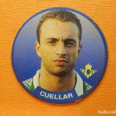 Coleccionismo deportivo: CROMO -TAZO - FUTBOL - Nº 16 - CUELLAR - BETIS - DIARIO SPORT- SPORTAZOS 1994 -. Lote 103794959