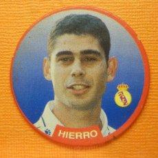 Coleccionismo deportivo: CROMO -TAZO - FUTBOL - Nº 6 - HIERRO - REAL MADRID - DIARIO SPORT- SPORTAZOS 1994 -. Lote 103792087