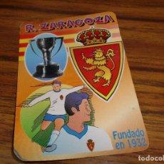 Coleccionismo deportivo: R. ZARAGOZA - AÑO 2000. Lote 103961031