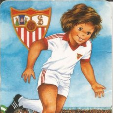 Coleccionismo deportivo: CALENDARIO FÚTBOL,SEVILLA C.F. - 1987. Lote 105679531