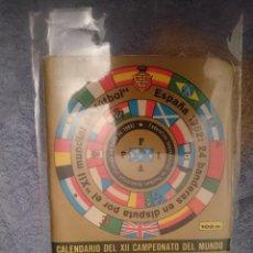 Coleccionismo deportivo: CALENDARIO DEL XII CAMPEONATO DEL MUNDO DE FUTBOL - ESPAÑA 1982 --REFM3E1. Lote 110681075
