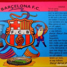Coleccionismo deportivo: CALENDARIO ALMANAQUE BARÇA - F.C. BARCELONA AÑO 2002 PUBLICIDAD. Lote 111326155