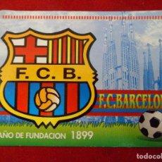 Coleccionismo deportivo: CALENDARIO ALMANAQUE BARÇA - F.C. BARCELONA AÑO 2000 PUBLICIDAD. Lote 111326411