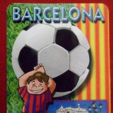 Coleccionismo deportivo: CALENDARIO ALMANAQUE BARÇA - F.C. BARCELONA AÑO 2006 PUBLICIDAD. Lote 111326531