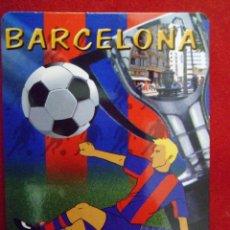 Coleccionismo deportivo: CALENDARIO ALMANAQUE BARÇA - F.C. BARCELONA AÑO 2010 SIN PUBLICIDAD. Lote 122197258
