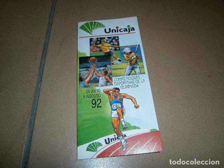 Calendario Unicaja.Competiciones Deportivas De Las Olimpiadas Barcelona 92 Calendario Movil Unicaja