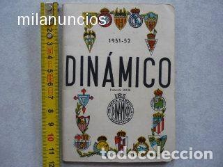 CALENDARIO FUTBOL ANTIGUO 1951-52 (Coleccionismo Deportivo - Documentos de Deportes - Calendarios)